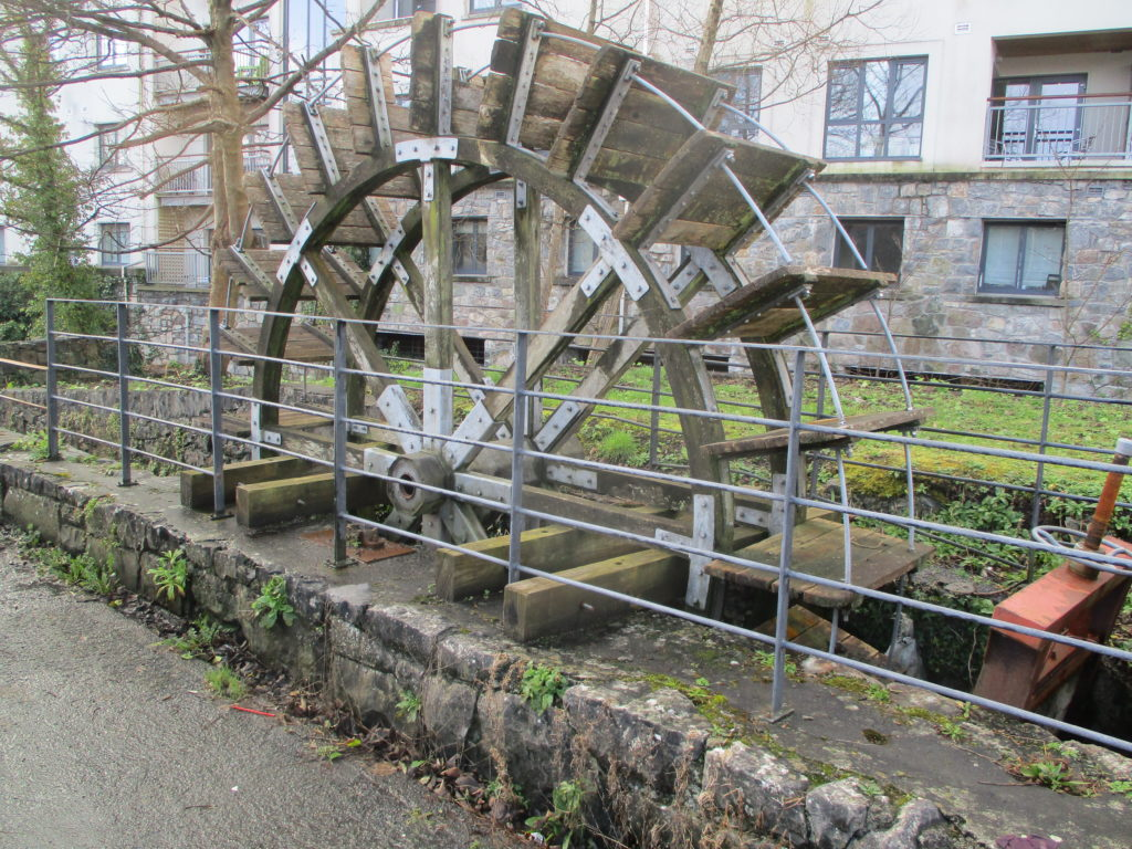 water wheel Mill St